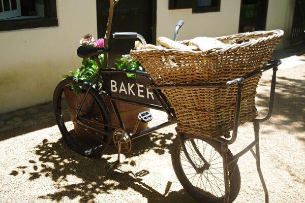 Vintage Delivery Bike