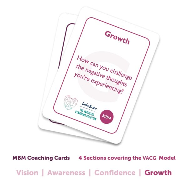 Imposter Syndrome Coaching Cards Image